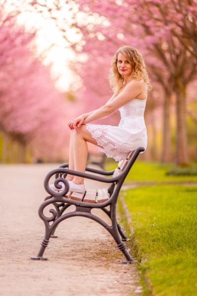 Kirschblütenshooting Pia