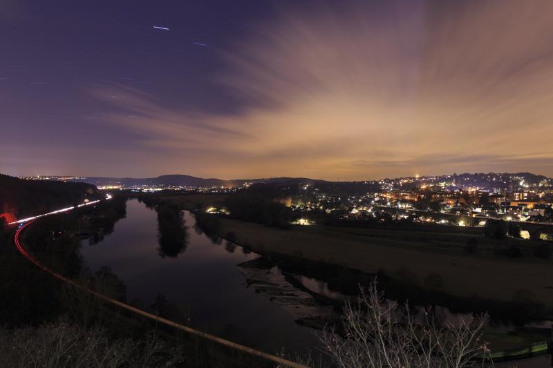 Blick vom Hohenstein über Stockum